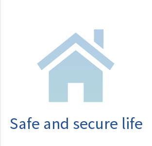 Safe, secure living