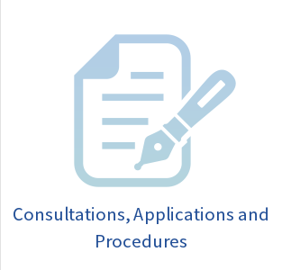 Consultations, applications, and procedures